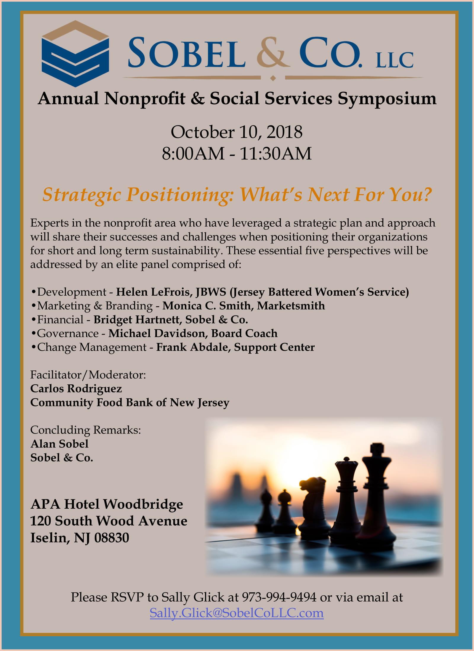Nonprofit Council Sobel Co Annual Symposium